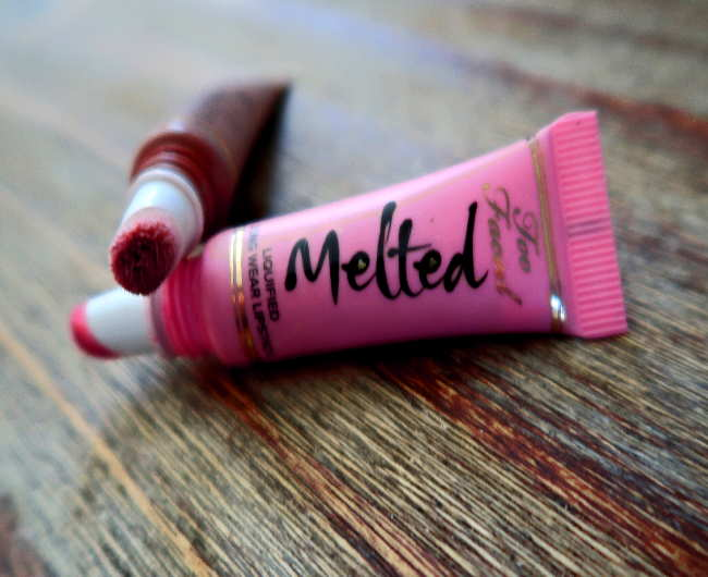 too faced melted chocolate peony