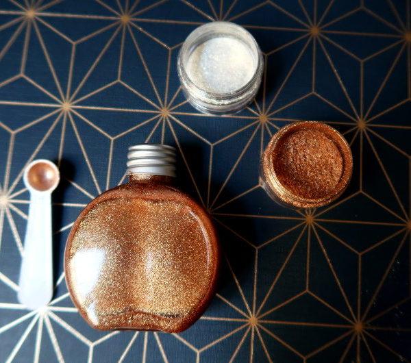 aromazone huile pailletee