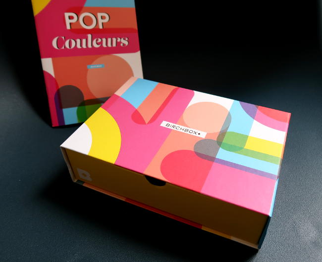 birchbox avril 2019 pop couleurs contenu