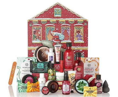 calendrier de l'avent 2019 the body shop