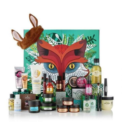 calendrier de l'avent the body shop 2018
