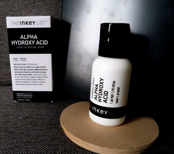 the inkey list serum alpha hydroxy acid