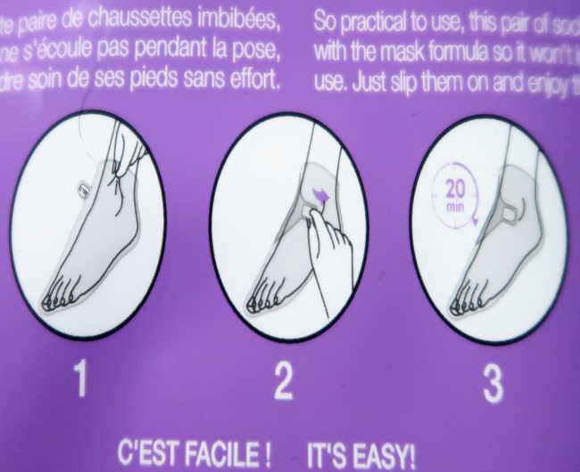 masque pieds lavande sephora
