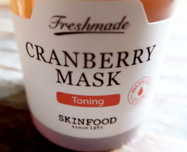 cranberry mask skinfood