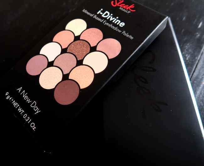 sleek palette i-divine