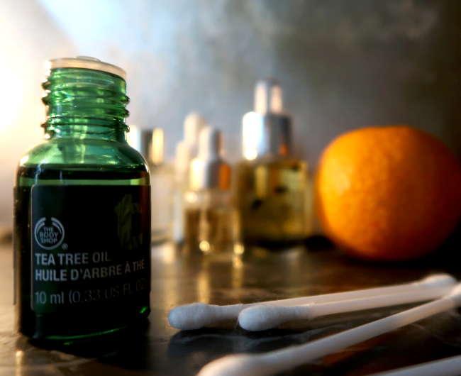 huile arbre a the the body shop utilisation